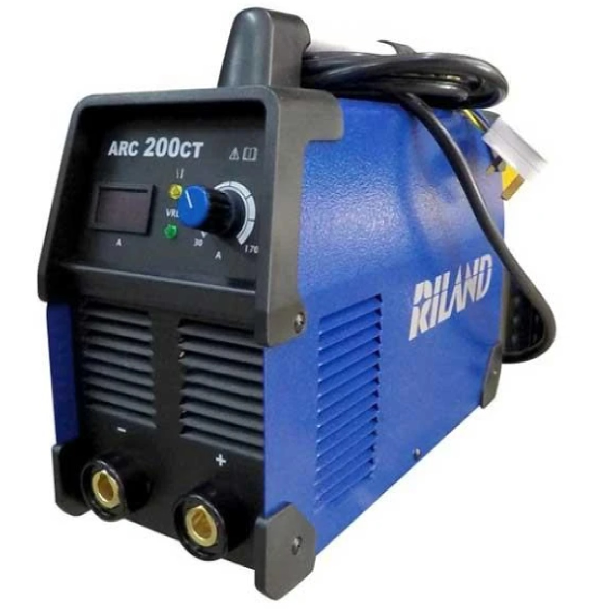 Riland ARC200CT 220V Welding Set Comes With 3M Ground And Welding Cable