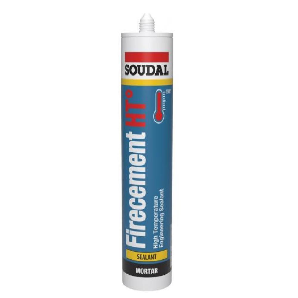 Soudal Firecement HT 1500 Degree Celsius Sealant 310ML