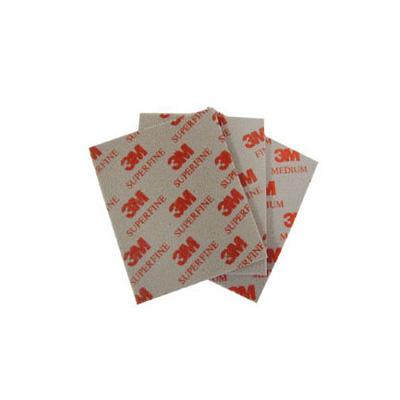 3M 02602 Red Super Fine Flexible Sanding Sponge