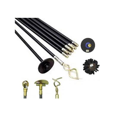 Horobin 25PC Rod Cleaner Set w/ Accessories Horobin Drain Rod Set w/ Tools