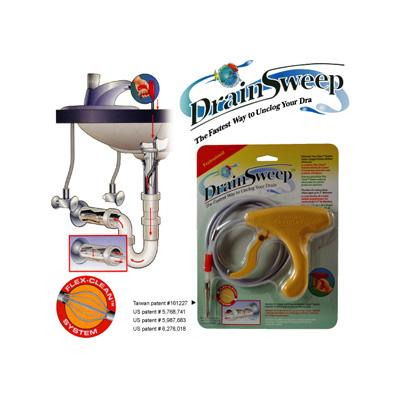 Drain Sweep Flexible Cleaning Anti Clog Tool 4 Feet Flex Clean System