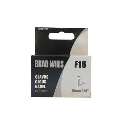 APEXON F10/F16 Brad Nail Small Box Of 2000 Pcs