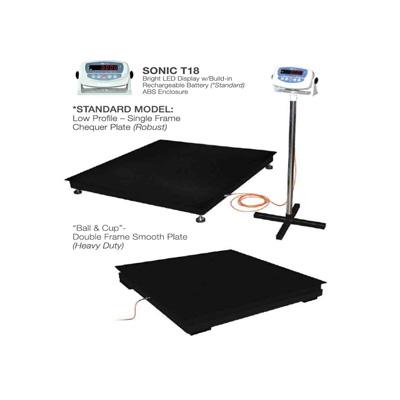 Sonic T18, Platform Scale, Comes with Calibration Certification (Platform 1.2M x 1.2M)