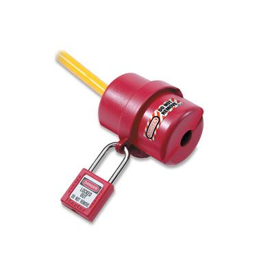 Masterlock No. 488 Rotating Large Electrical Plug Lockout For 220-550 Volt Plugs