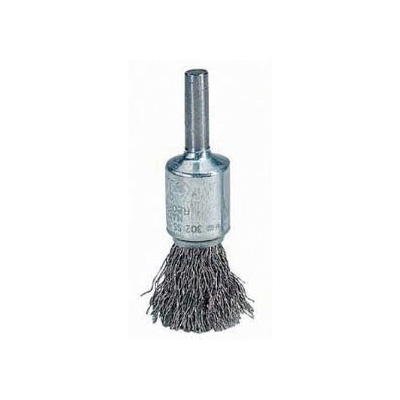 Union Stainless Steel End Brush (6MM Shank)