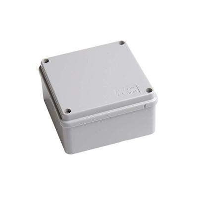PVC IP66, Weatherproof Exterior Junction Box 100mm x 100mm x 50mm