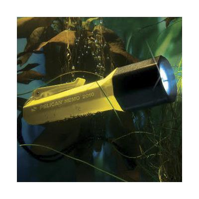 Pelican Nemo 2010N Yellow LED Dive Light Flashlight