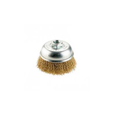 "Azone Brass Wire Cup Brush 3""/75MM (M10 x 1.5)"