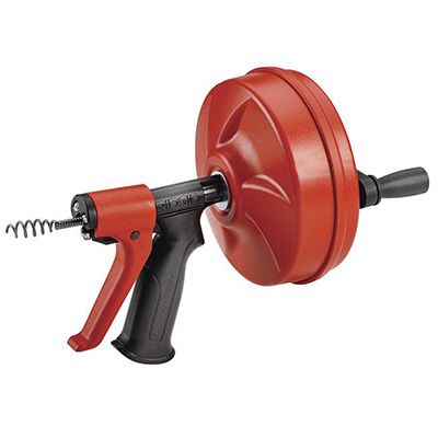 Ridgid 57043 Power Spin Plus w/ AUTOFEED Spinner For Clear Chokage Tool