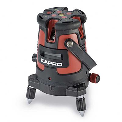 Kapro 875 Prolaser All-Lines Laser Layout Set With Soft Bag