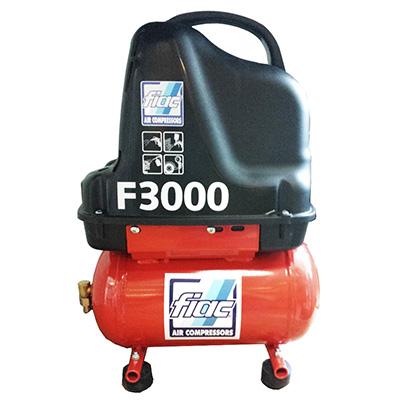 Fiac F3000 Air Compressor Air 6 Oiless 1100W