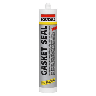 Soudal Gasket Seal 285 Degree Celsius Silicone Sealant 310ML