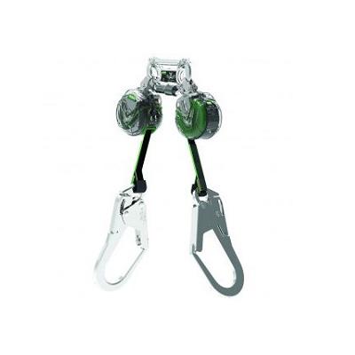 MSA 63111-00AEU V-TEC™ Mini Personal Fall Limiter, Twin-Leg