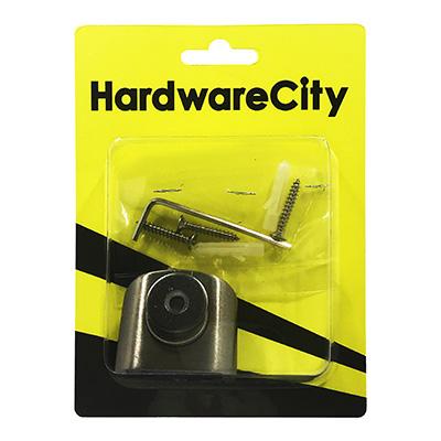 HardwareCity Floor Mounted, Magnetic Holder, Stainless Steel Door Stopper