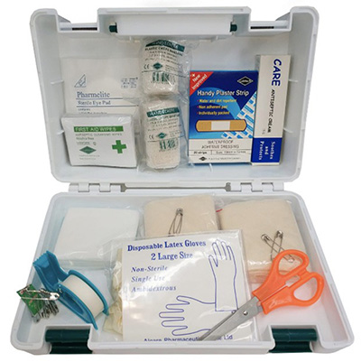 HardwareCity Alcare First Aid Box For Office Use