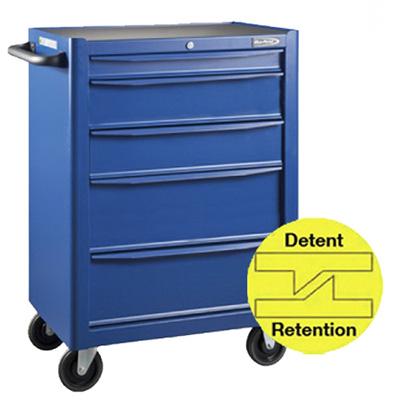 BluePoint KRB13005KPR, 5 Drawers Roller Cabinet