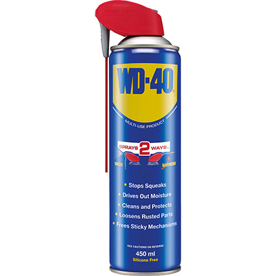 WD40 Multi-Use Product (Smart Straw) Anti-Rust Lubricant And Penetrant