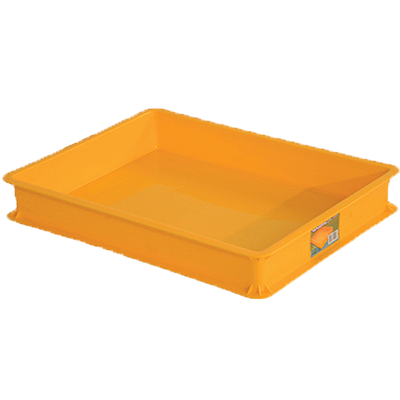 Toyogo ID3901 Yellow Industrial Plastic Container