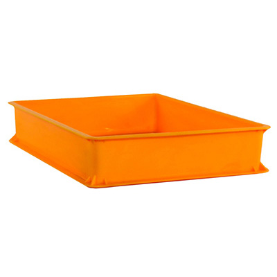 Toyogo ID3902 Yellow Industrial Plastic Container