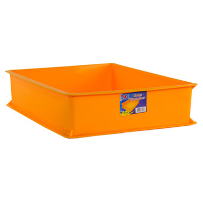 Toyogo ID3903 Yellow Industrial Plastic Container