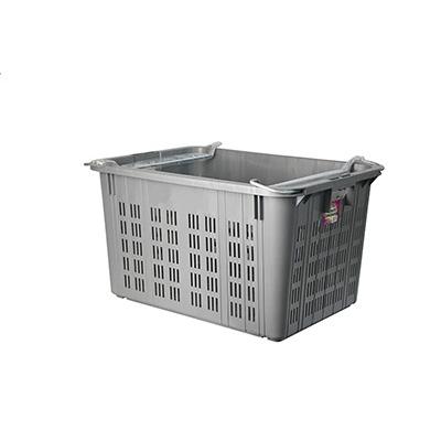 Toyogo ID4720 Grey Metal Handle Industrial Basket