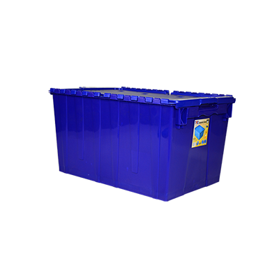 Toyogo ID4628 Blue Security Crate Container