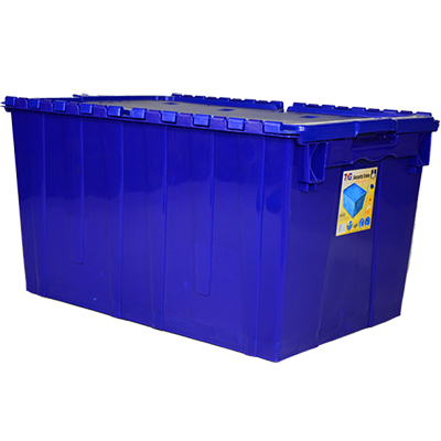 Toyogo ID4630 Blue Security Crate Container