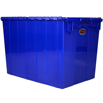 Toyogo ID4631 Blue Security Crate Container