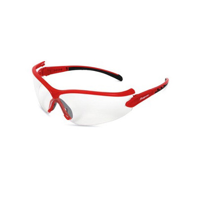 SnapOn GLASS31R Safety Eye Wear (Red Frame / Clear Lens)