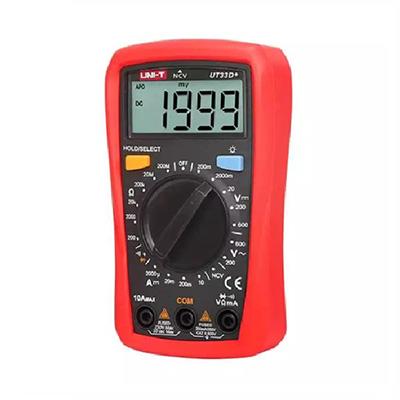 UNI-T UT33D+ Palm Size Multimeter