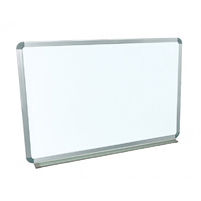 Magnetic Whiteboard With Folding Tray