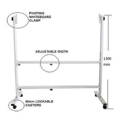 Adjustable White Board Stand