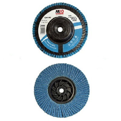 M10 100MM Heavy Duty Flap Disc For Stainless Steel