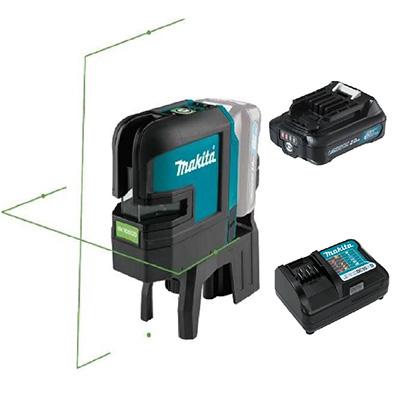 Makita SK105GDZ 12V Green Cross Line Laser 35M PLUS 1 X 12V 2.0AH LI-ION Battery & Charger