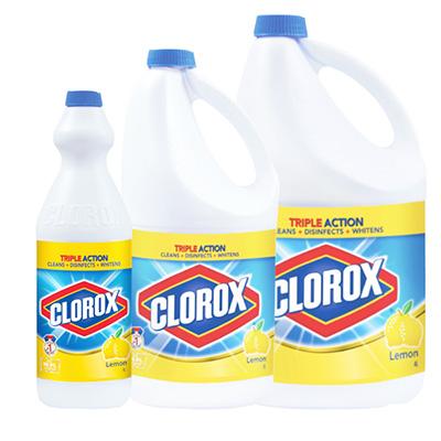 Clorox Bleach Lemon 1L/2L/4L