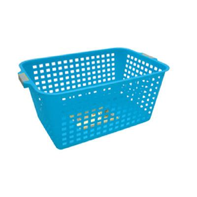 Algo Colorful Laundry Basket Rectangle Medium (Blue)