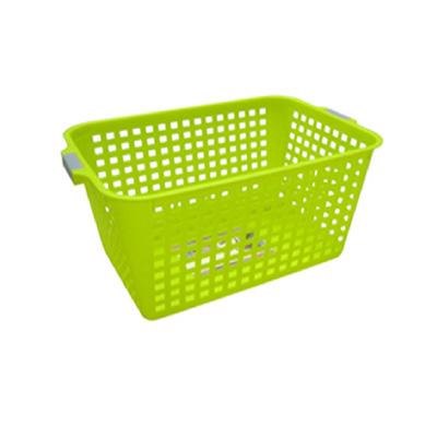 Algo Colorful Laundry Basket Rectangle Medium (Green)