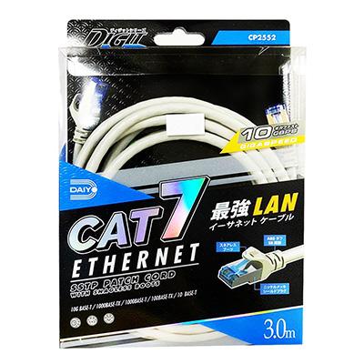 Daiyo CAT 7 Ethernet LAN Cable (Fast Speed) 3M