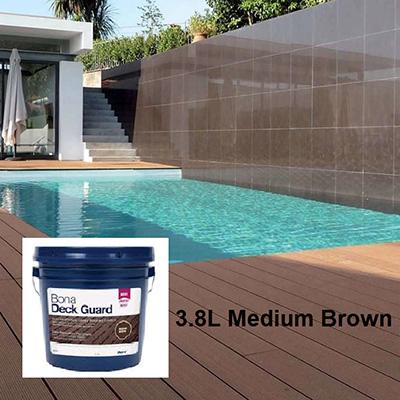 Bona Water-based Deck Guard Medium Brown 3.8L