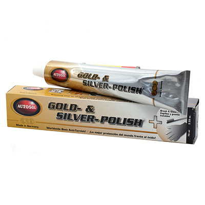 Autosol Gold And Silver Polish 75g Tube
