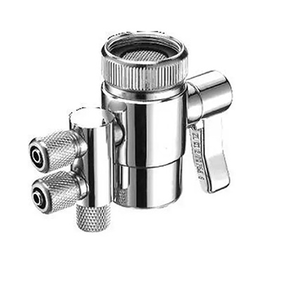 HardwareCity Water Filter 2 X Diverter Valve For Tap (1/4 X 3/8)