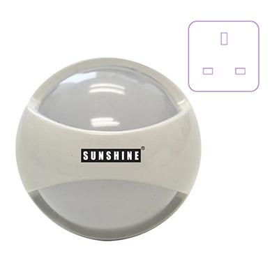 Sunshine LED Night Light Rotatable (3-Pin Plug In)