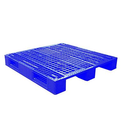 Toyogo P-1210R Blue Plastic Pallet