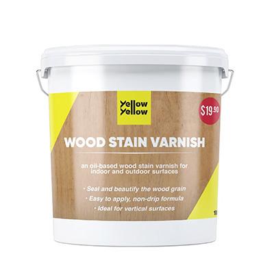 Yellowyellow Wood Stain Varnish 1L