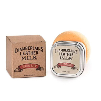 Chamberlains Leather Milk 4 OZ - Healing Balm