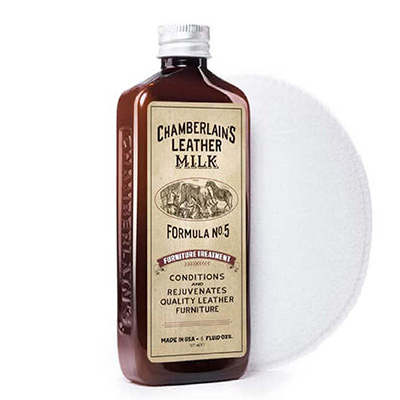 Chamberlains Leather Milk  Furniture Treatment No. 5  Premium Leather Furniture Conditioner