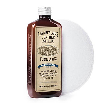Chamberlains Leather Milk - Water Protectant No. 3  Premium Leather Protector