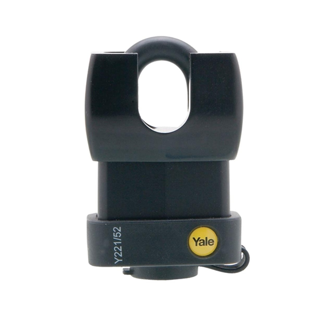 Yale Y221/52/125/1 52MM Weather Resistant Laminated Steel Padlock Comes With 3 Keys