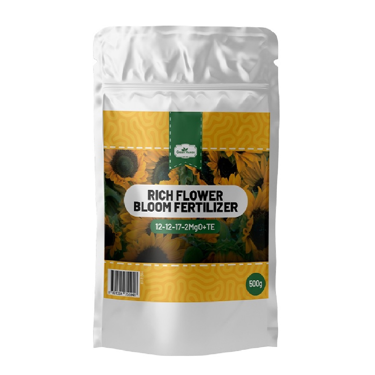Green Hands Rich Flower Bloom Fertilizer 500g