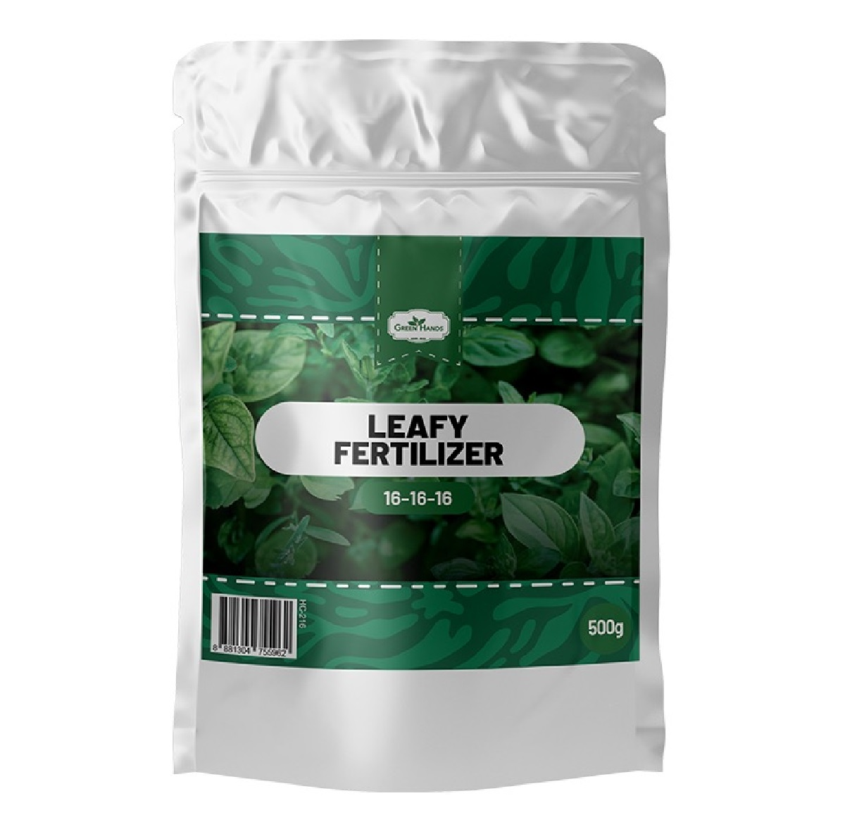 Green Hands 16-16-16 Leafy Fertilizer 500g